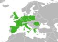 Carte Europe de l'origine des Véhicules d'occasion Arval Trading.png