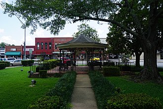 Carthage, Texas - Anderson Park is located in the center of downtown Carthage.