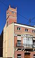 Casa amb torre miramar al carrer de la reina del Cabanyal.JPG