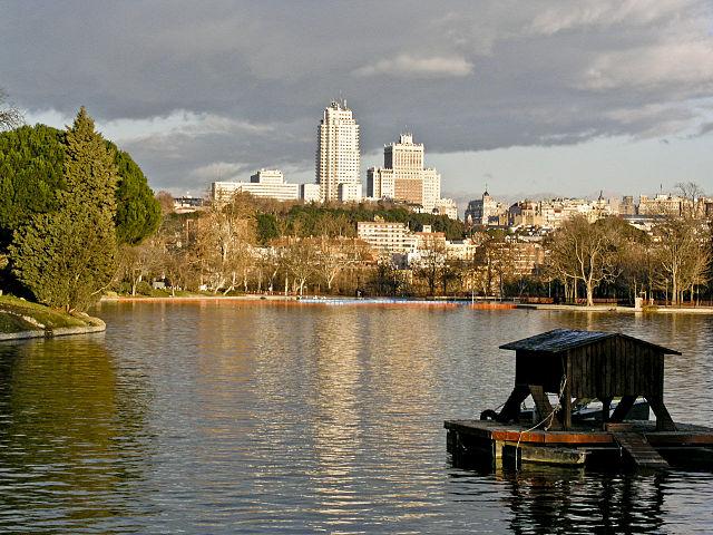 Lago en Casa de Campo