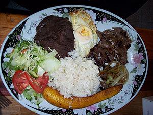 Costa Rican cuisine - Casado