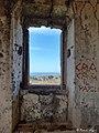 Casino San Fili, finestra della sala ottagonale con alla base un gradino.jpg