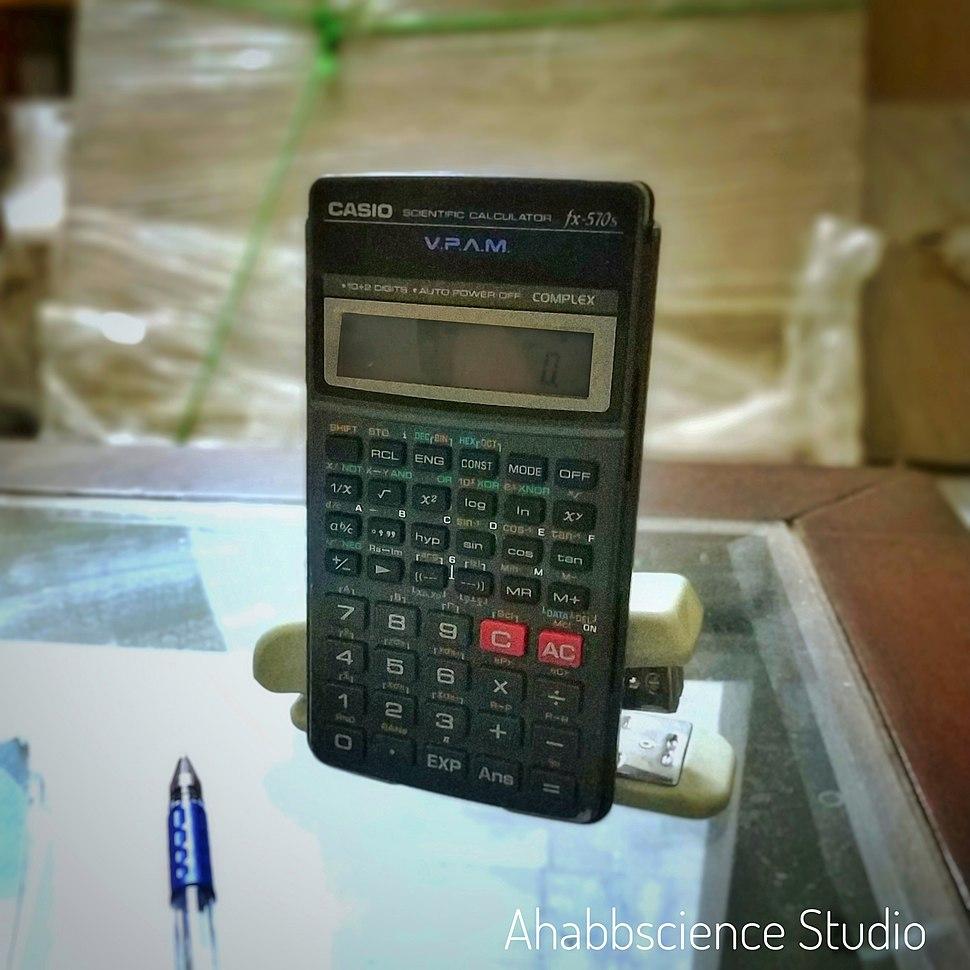 Casio V.P.A.M. fx-570s