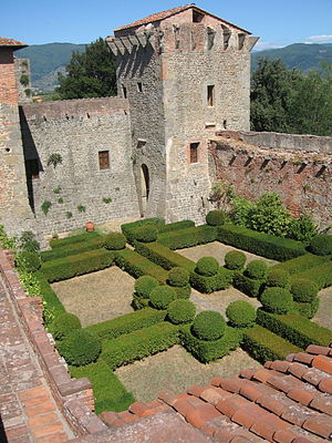 Montecarlo, Tuscany - Castle Montecarlo