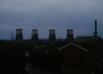 Castle Donington - Power station, demolished in 1996