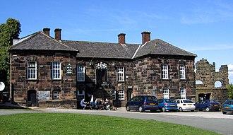 Halton Castle - Former courthouse of the castle, now the Castle Hotel