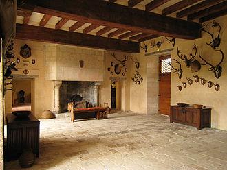 Château du Rivau - Image: Castle Riveau Hall