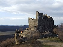 Castle of Holloko with Panorama.JPG