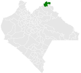 Catazajá Municipality in Chiapas, Mexico