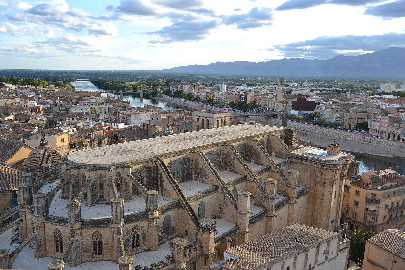 Exterior Catedral Tortosa