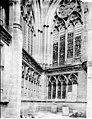 Cathédrale Notre-Dame - Arcature et fenêtre sur la terrasse - Evreux - Médiathèque de l'architecture et du patrimoine - APMH00033744.jpg