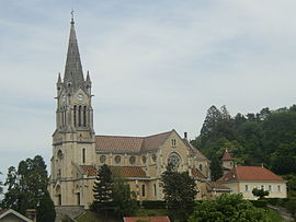 The church of Notre-Dame de l'Assomption, in La-Tour-du-Pin