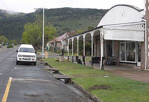 Cathcart, Eastern Cape - Main street in Cathcart