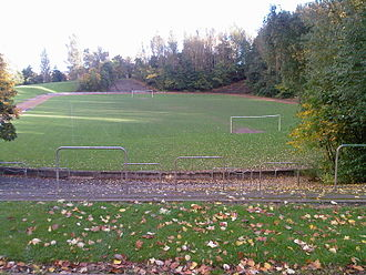 Hampden Park - The remains of Cathkin Park, which was the site of the second Hampden Park.