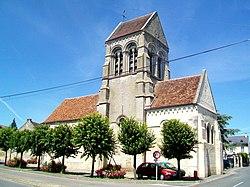 Église Saint-Aubin de Cauffry