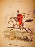 Cavaliers rouges d Abd-el-Kader  .