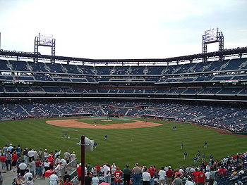 Un match au Citizens Bank Park de Philadelphie