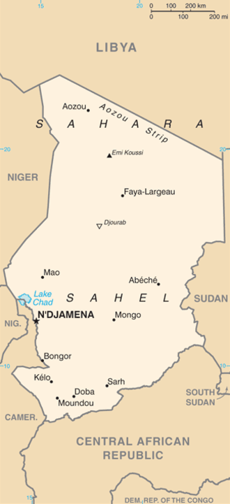 List of cities in Chad Wikipedia