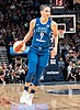 Cecilia Zandalasini handles the ball in the first quarter in the Minnesota Lynx vs Los Angeles Sparks game (cropped).jpg