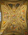 Ceiling of the left chapel in Sant'Agostino (Rome) HDR.jpg
