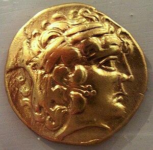 Cenomani - Cenomani gold coin, 5th-1st century BCE, French Gaul