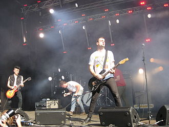 Ceremony (punk band) - Ceremony at Øyafestivalen in Oslo, Norway, 2012