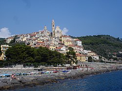 The village of Cervo