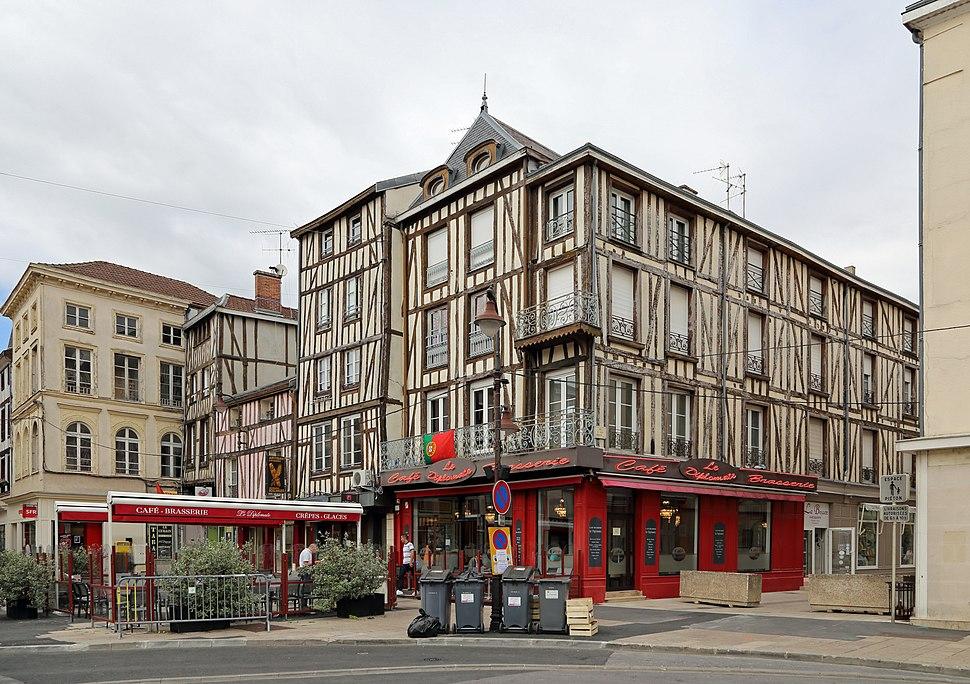 Châlons-en-Champagne maisons à colombage R01