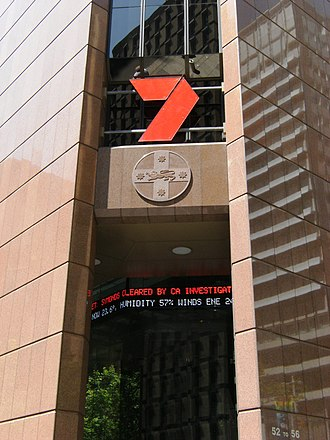 Seven Network - Seven's news studios at Martin Place, Sydney