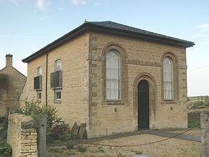 Chadlington - Former Baptist chapel, built 1840