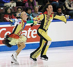 Sergei Sakhnovski - Chait / Sakhnovski at the 2003 Skate Canada International