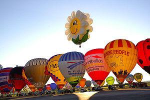 """Chambley-Bussières Air Base - """"Mondial Air Ballons"""" festival 2007"""