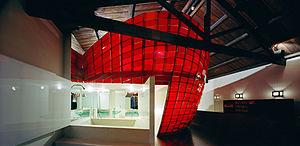 Cassandra Fahey - Interior of Chameleon, 2001.