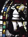 Champeaux (77) Collégiale Saint-Martin Vitrail figurant Saint-Michel.jpg