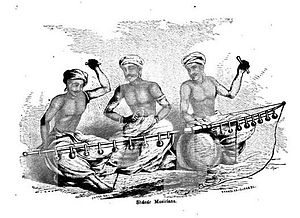 "Ezhava - Ezhava/Channar Musicians from the 19th century: Performing the traditional ""Villadichaampattu"""