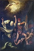 Chapel of our Lady of the Rosary of Santi Giovanni e Paolo (Venice) - Miracle of St Dominic.jpg