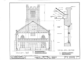 Chapel of the Cross, 304 East Franklin Street, Chapel Hill, Orange County, NC HABS NC,68-CHAP,1- (sheet 5 of 7).png