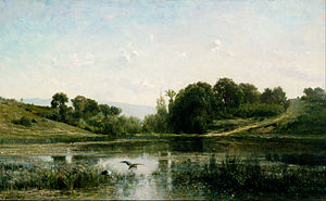 Charles-François Daubigny - Image: Charles Franҫois Daubigny The Ponds of Gylieu Google Art Project