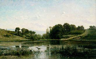 Charles-François Daubigny - Image: Charles Franҫois Daubigny The Ponds of Gylieu Google Art Project