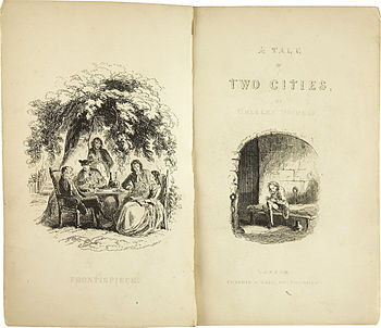 Charles Dickens: A Tale of Two Cities, Erstausgabe