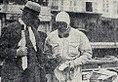 Charles Faroux, directeur de course du Grand Prix de Monaco 1932, dialogue avec Achille Varzi avant le départ.jpg