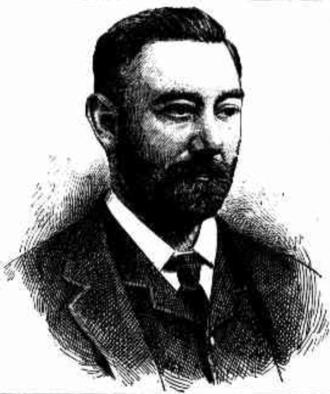 Charles James Roberts - Charles James Roberts, CMG, MLC, c1890