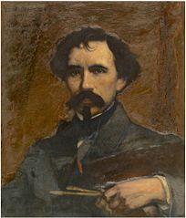 Portrait of the painter Joseph Lies