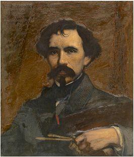 Jozef Lies (schilder: charles Verlat)