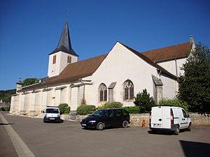 Chassagne-Montrachet - Image: Chassagne Montrachet (Côte d'Or, Fr) église