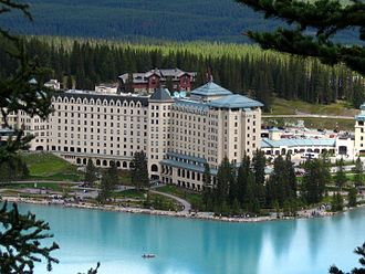 Chateau Lake Louise - Chateau Lake Louise in Alberta, Canada