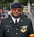 Checkpoint of the Parade. Belgian National Day. Brussels, 2012.jpg