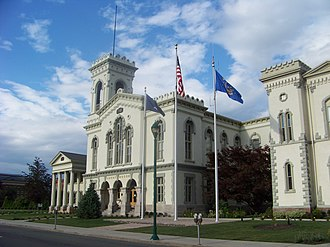 Chemung County, New York - Image: Chemung County Courthouse