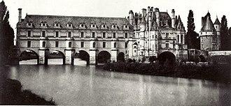 Gustave Le Gray - Château de Chenonceau (1851)