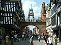 Chester, The Eastgate Clock - geograph.org.uk - 208862.jpg